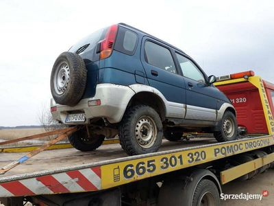 używany Daihatsu Terios 4x4 1.3benz uszkodz buggy baggy quad zmota