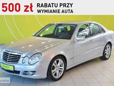 brugt Mercedes 320 Klasa E W211Avantgarde EVO, automat, skórzana tapicerka, NAVI, 12 m-cy gwara