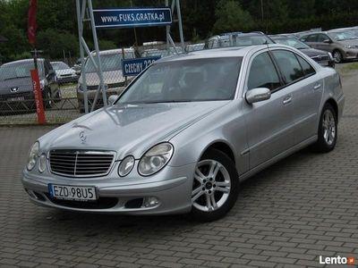 używany Mercedes E220 _Zarejestrowany w PL_Technicznie Sprawny_ W211 (2002-2009)