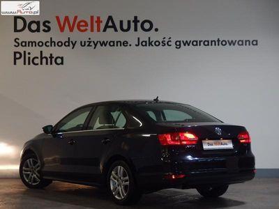 używany VW Jetta 1.6 1.6TDI 105KM Highline Gwarancja Dealer Plichta VW FV23 automatyczna klima.
