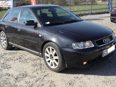 used Audi A3 1.8dm3 150KM 2001r. 192 031km 1.8 Turbo*KLimatronik*LIFT*5 Drzwi*Tanio*