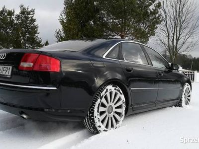 używany Audi A8 D3 Lift 4.2TDI Quattro BOSE Hak Bogate Wyposażenie