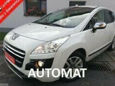 używany Peugeot 3008 I 2.0 hdi 163 KM HYBRID 4 - navi - skóra - 4x4 - biała perła - Gwaranc