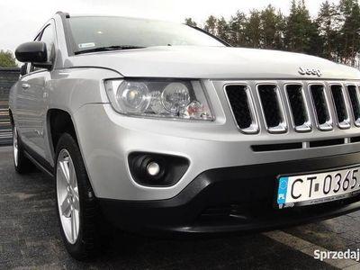 używany Jeep Compass 2012 1-wszy właściciel FV 23% 2.0 benzyna