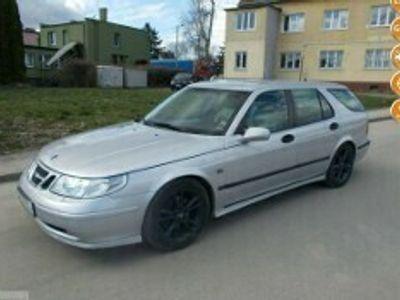 używany Saab 9-5 Idealny na dojazdy w Gazie Bogato Wyposażona 100 aut na placu I (1997-2010)