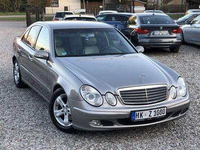 używany Mercedes E200 1.8dm3 163KM 2005r. 264 580km Avantgarde Kompressor 163KM Xenon Skóra Okazja !!!