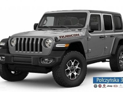 używany Jeep Wrangler III [JK] JL Unlimited Rubicon 2.0 265KM   Szary STING GRAY / Czarna skóra