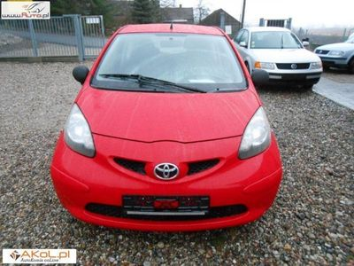 używany Toyota Aygo 1dm3 68KM 2009r. 106 000km auto z niemiec numer na placu 180