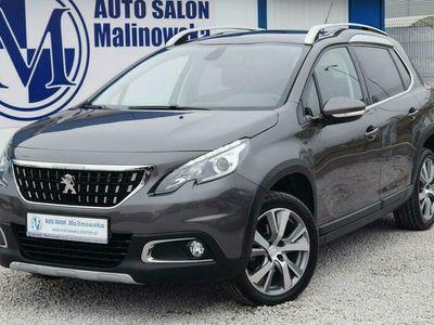 używany Peugeot 2008 1.2dm 130KM 2019r. 13 000km