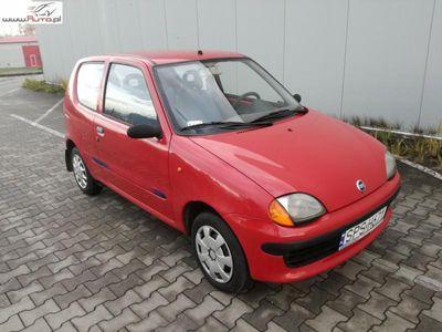używany Fiat Seicento (600) 0.9dm3 39KM 2001r. 206 500km