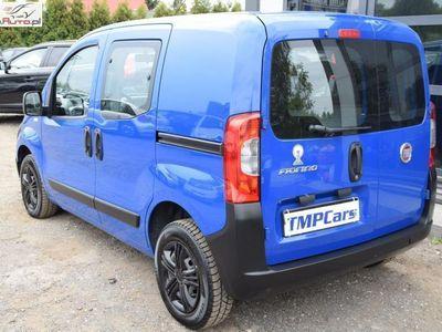 używany Fiat Fiorino 1.4dm3 74KM 2009r. 118 190km 1.4 Benzyna_2009 rok_Niski przebieg_Dodatkowy komplet kół_