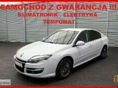 używany Renault Laguna III Skóra + Tempomat + Serwis + GWARANCJA !!!