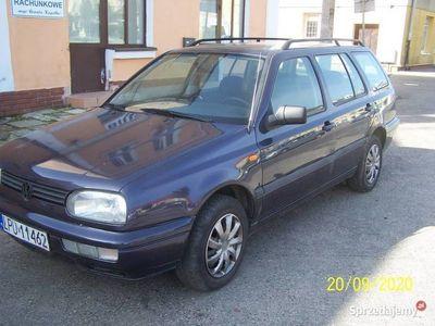 używany VW Golf III kombi 1996r 1,9tdi-długie OC-90 KM