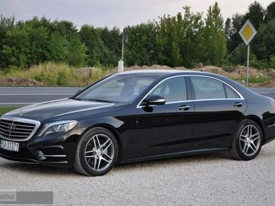 używany Mercedes 350 Klasa S W222LONG 4x4 4MATIC Krajowy I Właściciel 100% Bezw