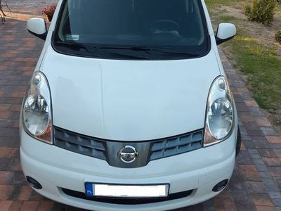 używany Nissan Note 1.4 benz 2008 r