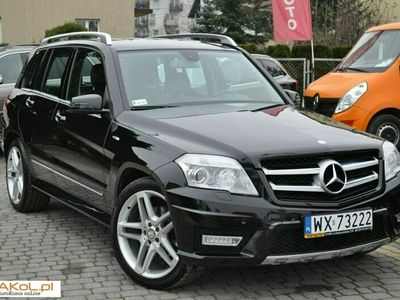 używany Mercedes GLK350 2.1dm 204KM 2010r. 180 000km