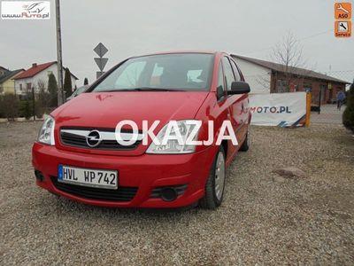 używany Opel Meriva 1.7dm3 101KM 2007r. 190 000km Lift serwis oryginalny przebieg jeden właściciel