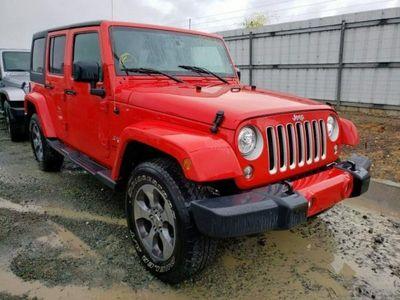 używany Jeep Wrangler 3.6dm 285KM 2018r. 39 700km