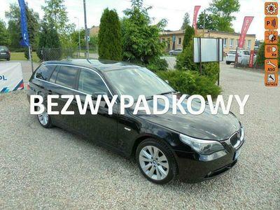używany BMW 525 Oryginał bezwypadkowa serwis super stan jeden właściciel! E60 (2003-2010)