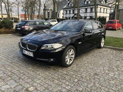 używany BMW 520 seria 5 2dm3 184KM 2012r. 183 470km d Touring Automat8 Beżowe Skóry Xenon Bogata wersja