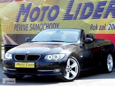używany BMW 320 Cabriolet SERIA 3 85 tkm!, Bezwypadkowy, 2010/11, Bogata wersja