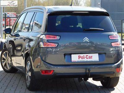 używany Citroën Grand C4 Picasso 2dm3 150KM 2015r. 38 000km 2.0 Diesel- BlueHDI- 7 Miejsc- Nawigacja- Telefon- Kamera