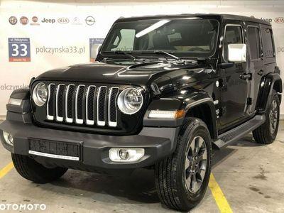 używany Jeep Wrangler III [JK] JL Unlimited Rubicon 2.0 265KM   NOWY MODEL   Czarny - Solid Black