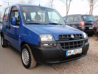 używany Fiat Doblò 1.6dm3 103KM 2002r. 136 876km ABS