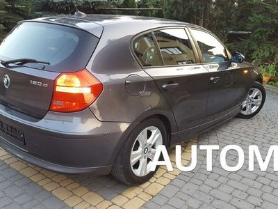 używany BMW 123 seria 1 2dm3 177KM 2008r.000km B.Ładna PO Lifcie SKÓRA CZARNA Automat 2.0/177KM