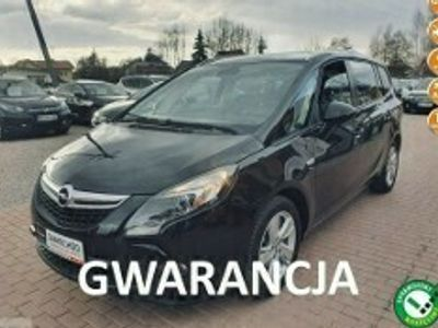 używany Opel Zafira Gwarancja, Lift, Serwis C (2011-)