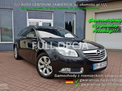 używany Opel Insignia fULL oPCJA XENON Skóra 194 Ps, Zawiercie
