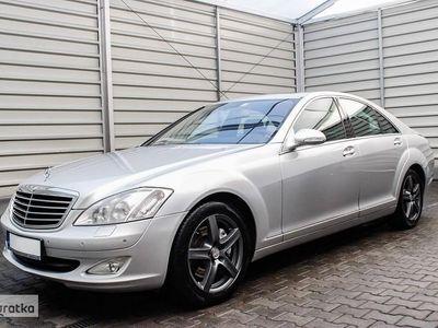 używany Mercedes 320 Klasa S W221AUTOMAT + Navigacja + Klimatronik + Skóra !!!, Leszno