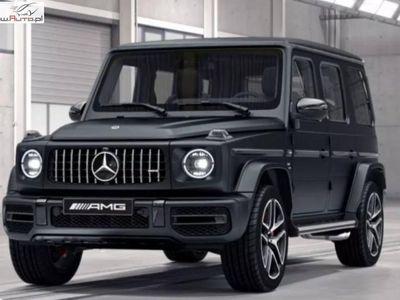 używany Mercedes G500 4dm3 422KM 2019r. 10 000km Salon Polska Gwarancja do 2024 Nowy AMG Designo