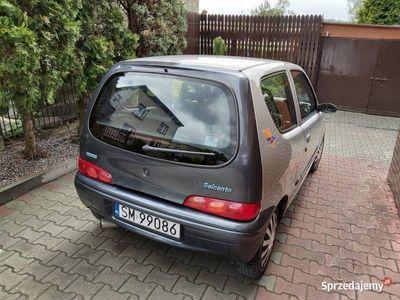 używany Fiat Seicento 2002r wersja Brush, el.szyby, poduszka, ZDROWY