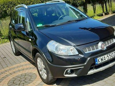 używany Fiat Sedici 1.6 Emotion 4X4 benzyna + gaz