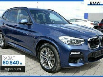 używany BMW X3 G01 xDrive20d M Sport (190KM) | Pakiet ConnectedDrive Plus