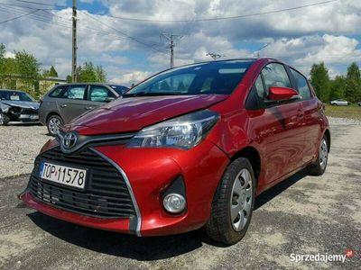 używany Toyota Yaris III Rejestracja 2015 1.3 Benzyna Kamera Nawigacja