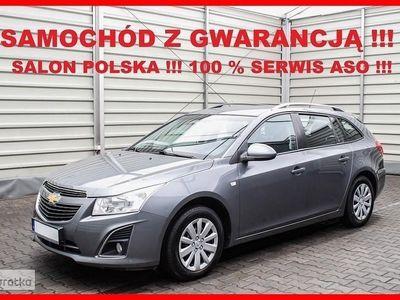 używany Chevrolet Cruze Salon PL + 100% Serwis ASO + 1,4 140 KM + Tempomat !!