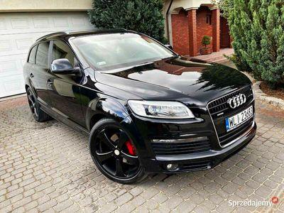 używany Audi Q7 I SLine QUATTRO 4,2 TDI 326 KM, 7osobowy, koła 21cal
