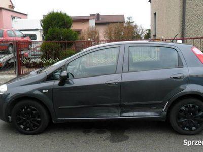 używany Fiat Grande Punto 1.4 benzyna, 5 drzwi wspoma, klima, rej. PL