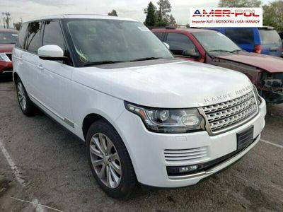 używany Land Rover Range Rover 3dm 340KM 2015r. 110 000km