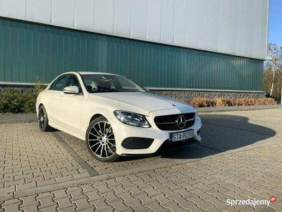 używany Mercedes C160 AMG, Polski Salon, Niski przebieg W205 (2014-)