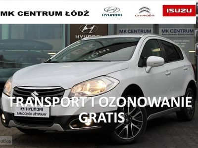 używany Suzuki SX4 S-Cross 1.6 120KM BIAŁA PERŁA Premium 4x4 AllGrip od Dealera Faktura VAT23%, Łódź