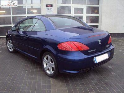 używany Peugeot 307 CC 2dm3 136KM 2005r. 116 000km