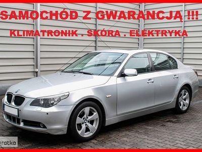 używany BMW 525 SERIA 5Klimatronik + Elektryka + Parktronik + Skóra !!!