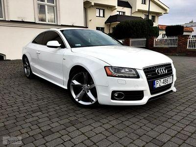 używany Audi A5 I (8T) 2.0 turbo 211km quattro s-line xenon skóra panorama alu top pl, Biskupice