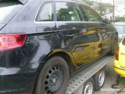 używany Audi A3 uszkodzone