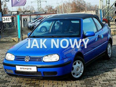 używany VW Golf Cabriolet IV 1.6 KARMANN* Fotele Sport*ABS*Grzane fotele*El.Szy*Z NIEMIEC
