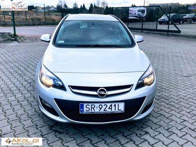 używany Opel Astra 1.4dm3 100KM 2016r. 62 000km 1,4 benz. Klima Bezwypadkowy ZAREJESTROWANY