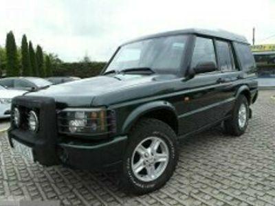 używany Land Rover Discovery 2 2,5 diesel 139KM zarejestrowany 4x4 automat